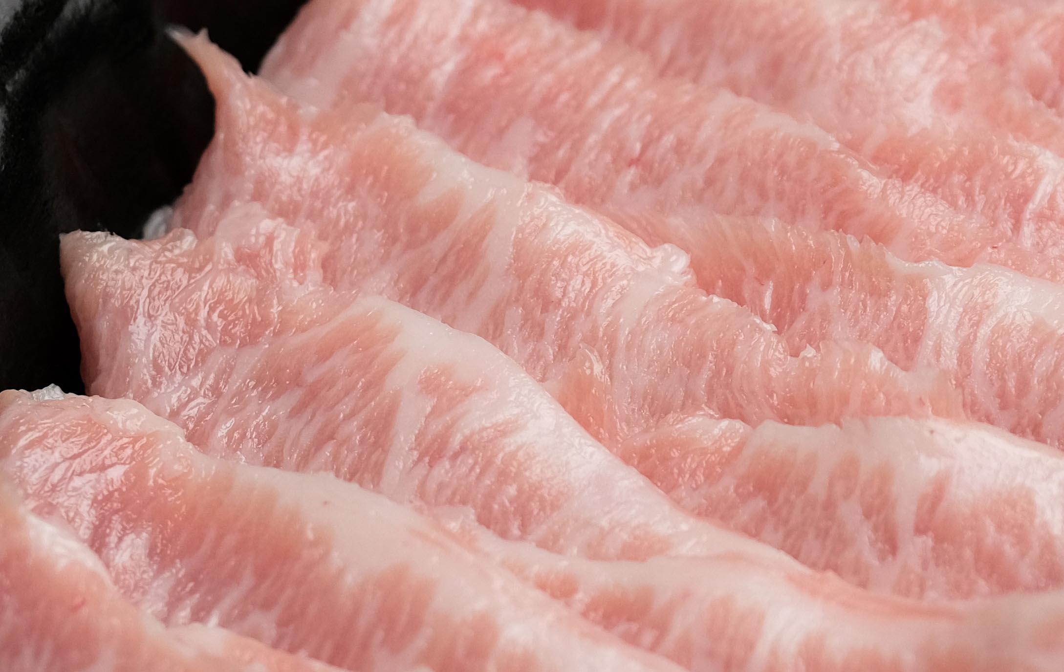 信功大麥豬霜降燒肉片